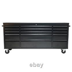 Large Tool Chest Box Rolling Cabinet Workbench 10/15Drawers Garage Tools Cabinet