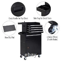 Large Tool Organizer Rolling Cart Drawers Storage Chest Trolley Cabinet Garage