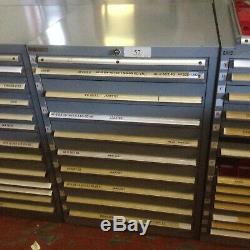 Lista Large Roller Bearing 10 Drawer Tool Parts Storage Cabinet 100cmx72cm 57