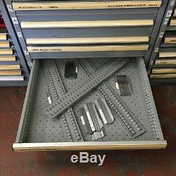Lista Mechanics Roller Bearing 12 Drawer Tool Cabinet No. 20