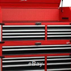 Milwaukee 18 Drawer Tool Chest Cabinet Storage Organizer High Capacity Red 56