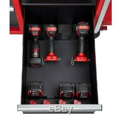 Milwaukee 18 Drawer Tool Chest Cabinet Storage Organizer High Capacity Red 56 In