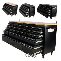 Mobile Tool Chest Box Cabinet Storage Drawer Rolling Organizer Garage Workbench