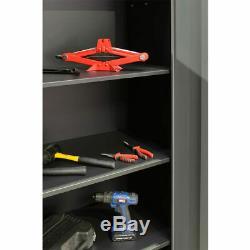 Modular Cabinet Set Workshop Garage Storage Drawer Shelf Cupboard Wall Furniture