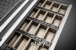 Neo Tools Plastic Modular Tool Chest of Drawers Tool Box Cabinet Black 84-226