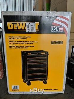 New DeWalt 26 in. Wide 6 Drawer Rolling Tool Cabinet Toolbox Tool Storage