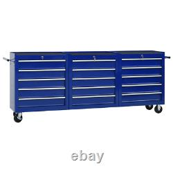 New Roller Tool Cabinet Storage Chest Box Garage Workshop ToolBox With Drawer