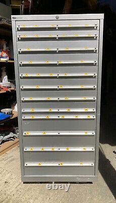 Original 12 Drawer LISTA Tool Cabinet Part Refurbished