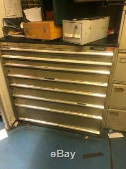 POLSTORE (8) Drawer Cabinet Tooling 43 x 30 x 42