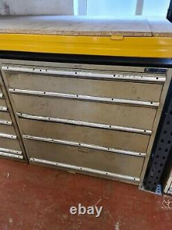 Polstore 5 Drawer Tooling Storage Cabinet Workshop Clearance Milling Drilling