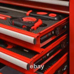 Pro Storage Tool Trolley with Tools 7 Layers Chest Cabinet Drawer Workshop Cart