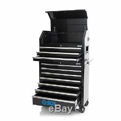 SGS 36 10 Drawer Professional Tool Chest & Roller Cabinet With Power Sockets