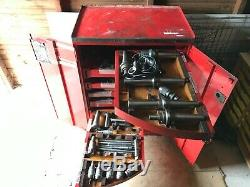 SIP Societe Genevoise Tooling / Tool Cabinet. 7 Drawer, with Contents