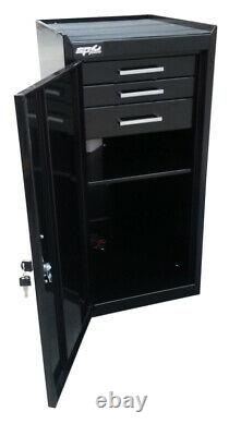 SP Tools Power Tools Side Cabinet 1 Compartment With 3 drawers SP40133