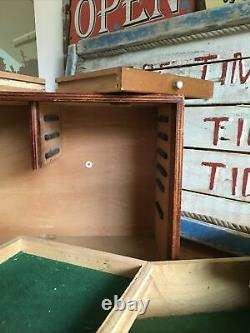 Scratch Built Wooden Engineers Toolmakers 8 Drawer Wooden Tool Cabinet Box