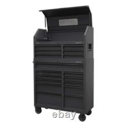 Sealey 17 Drawer Tool Chest Trolley Cabinet Combination USB Soft Close Garage