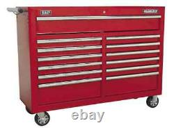 Sealey AP5213T Rollcab 13 Drawer with Ball Bearing Runners Red