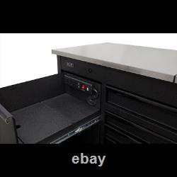 Sealey Mobile Tool Cabinet 1600mm with Power Tool Charging Drawer AP6310BE