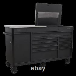 Sealey Mobile Tool Storage Cabinet 1600mm Power Tool Charging Drawer AP6310BE