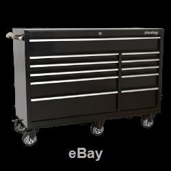 Sealey PTB142511 Rollcab 11 Drawer 1425mm Heavy-Duty Rolling Tool Cabinet Garage