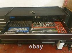 Sgs 58 Professional 18 Drawer Tool Cabinet & Side Locker