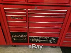 Snap On Tool Box 13 Drawer Roll Cabinet 40 Red