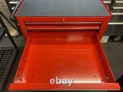 Snap On Tools 7 Drawer Roll Cab Tool Box Cabinet KRA2007K Good Cond with Key