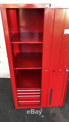 Snap On Tools Side Locker Cabinet With Drawers Red KRA2012 KRA5012