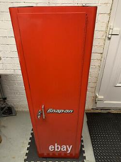Snap On Tools Side Locker Cabinet With Drawers Red KRA2012 Mint Condition