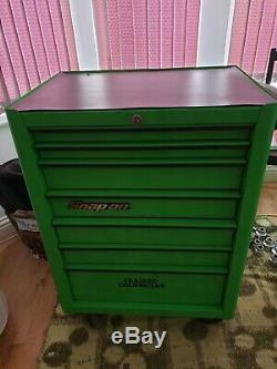 Snap on 26 tool cabinet 7 drawer