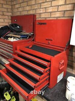 Snap on 5 drawer top tool box