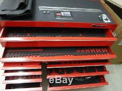Snap-on KRL722 Rolling Cabinet Double Bank 11 Drawers Red Tool Chest KRL722BPBO