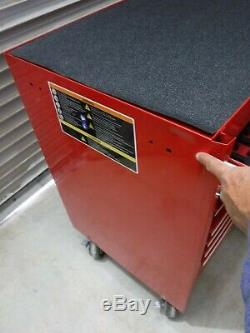 Snap-on Krl722 Rolling Cabinet Double Bank 11 Drawers Red