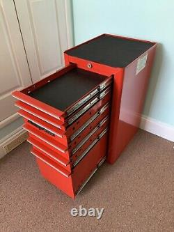 Snap on Tool Box Side Cabinet. Rare Model No. KRA4820A. 6-Drawer(withKey) Mint Cond