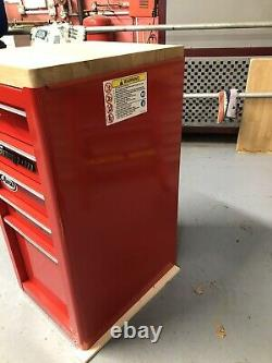 Snap on Tool Box Side Cabinet. Rare Model No. KRA4820DK. 5Drawer(withKey) Mint Cond