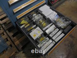 Stanley Vidmar 12 Drawer Industrial Cabinet 30 X 28 X 59 Modular Tool Storage