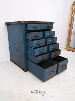 Steel Workshop Storage Tool Cabinet Bank Of Drawers