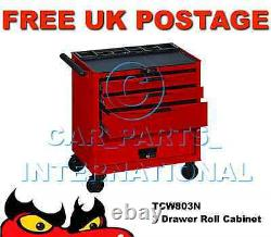 Teng Tools TCW803N 3 Drawers Roll Cabinet Tool Storage Box