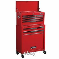 Tool Chest 8 Drawer Roller Garage Workshop Cabinet Roll Cab Tools Box Trolley