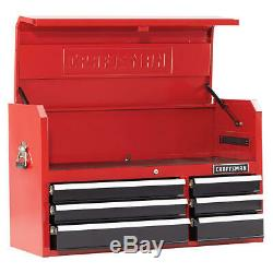 Tool Chest Box Cabinet Storage Drawer Top Organizer Garage Workbench Soft Close