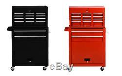 Tool Chest Cabinet Trolley Cart Roller Box Drawers Mechanics Garage Steel