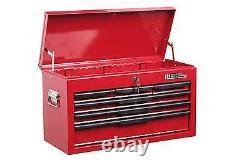 Tool Chest New Hilka 6 Drawer Red Metal Garage Tools Box Cabinet Storage Unit