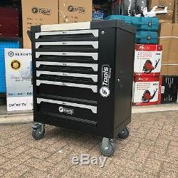 Tool Trolley Cabinet with 399 Tools Steel Workshop Storage Chest Carrier ToolBox