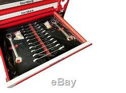 Tool Trolley Cabinet with 399 Tools Steel Workshop ToolBox Full Of Tools RRP1350