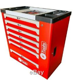 Tool Trolley Cabinet with 419 Tools Steel Workshop ToolBox Full Of Tools RRP1350