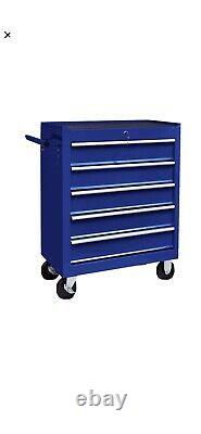 Tool Trolley Cabinet with 5/7 Drawers Steel Workshop Storage Chest Carrier ToolB