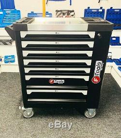 Tool Trolley Cabinet with Tools Steel Workshop ToolBox Full Of Tools RRP1350