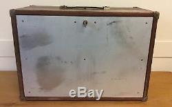 Union 8 Drawer Engineers Tool Chest/cabinet/ Box +key Re-enforced Metal Front
