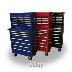 Us Pro Tools Mechanics Tool Chest Box Rollcab Toolbox Roller Cabinet 16 Drawers