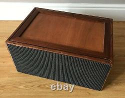 Vintage 8 Drawer Tool Box Engineers Watchmaker Lockable Wooden Chest / Cabinet